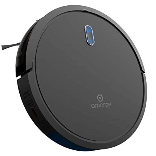 Image of Home and Kitchen Robotic Vacuum Cleaner - Robot Vacuum, 100mins Long Lasting, Super Strong Suction, Self-Charging,Timing Function, 2.7inch Super Thin, 4 Cleaning Modes, Hard Floor Robot Vacuums for Pet Hair, Carpet