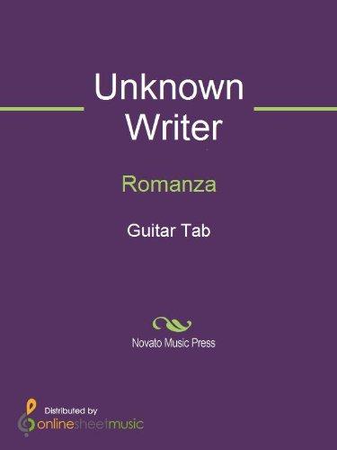 Romanza - Kindle edition by Alexander Gluklikh, Unknown Writer  Arts