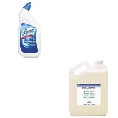 - KITBWK430CTRAC74278CT - Value Kit - Dermabrand Antibacterial Liquid Soap (BWK430CT) and Professional LYSOL Brand Disinfectant Toilet Bowl Cleaner (RAC74278CT)