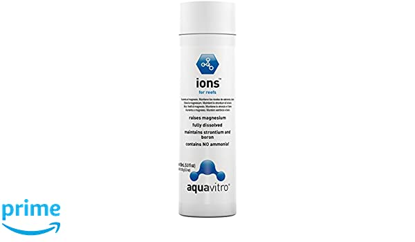 Amazon.com : Fish & Aquatic Supplies Aqua Vitro Ions : Aquarium Treatments : Pet Supplies
