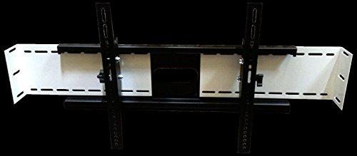 SlydLock Fireplace Nook TV Mount - Fits all Plasma/LCD/LED Tilt or Flat 32-80