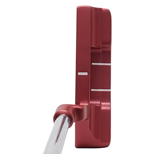 Bionik 101 Red Golf Putter Right Handed Blade Style with Ali