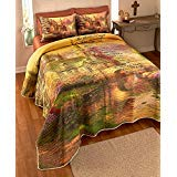 The Lords Prayer Printed Quilt Set - King Size ()