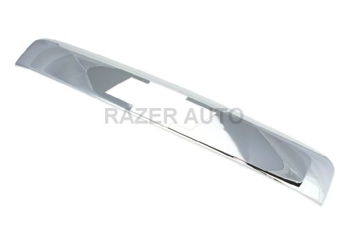 Razer Auto CHROME REAR DOOR MOLDING (TOP) W/LOGO CUT OUT for 07-14 CHEVY CHEVROLET SUBURBAN/TAHOE