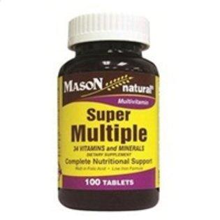 Super Multiple 34 Vitamins And Minerals