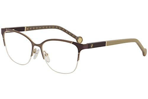 CH Carolina Herrera Eyeglasses VHE091K VHE/091K 033M RoseGold Optical Frame 53mm by Carolina Herrera