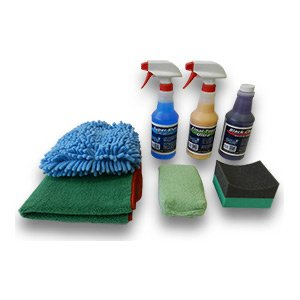Detail King Car Care Deluxe Wash, Shine, & Tire Dressing Value Kit