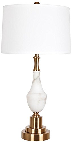 Crestview Collection Roma Alabaster and Brass Table (Alabaster Brass Table Lamp)