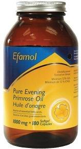 Efamol-Evening Primrose Oil 1000mg (180Capsules) In Glass Bottle Brand: Efamol by Efamol