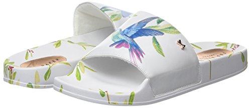 Hummingbird Sandales Femme Baker Blanc highgrove ffffff Ouvert Aveline Bout Ted 4nFxBCqT