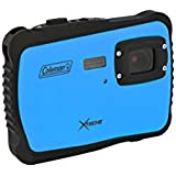 Coleman C6WP-BL Xtreme 12.0 MP/HD Underwater Digital & Video Camera (Blue)