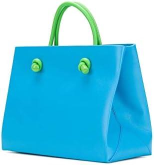 Alberta Ferretti Luxury Fashion Donna V70028001V1313 Azzurro Pelle Borsa A Mano | Stagione Outlet