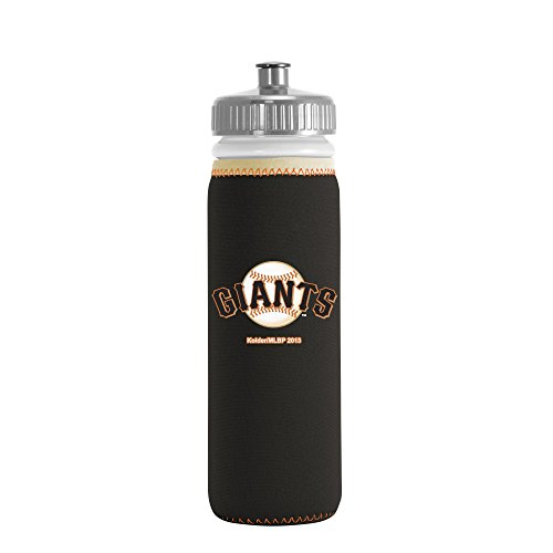 MLB San Francisco Giants Van Metro Sports Bottle, Black, 22-ounce