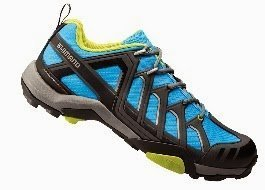 Shimano 2015 Men's Multi-Use/Touring Mountain Bike Shoes - SH-MT34B (Blue - 36)