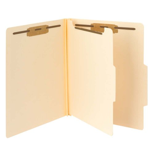 Smead Classification File Folder, 1 Divider, 2