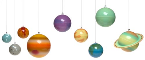 Amazoncom Great Explorations D Solar System Toys Games - Hanging solar system for kids room