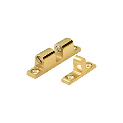 Deltana BTC10CR003 Solid Brass 1.8-Inch x 0.3-Inch Ball Tension Catch