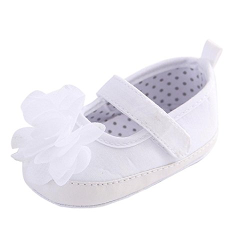 Clode® Bambin fille Crib chaussures souples semelle anti-dérapant Sneakers (0~ 6 mois)