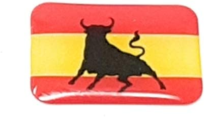 Valmonisport Bandera de España con Toro y Sin Escudo 9 Pegatinas ...