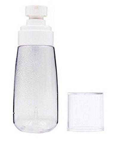 1Pc 100ML/3.4oz Ounce Clear Plastic Spray Bottles Essential