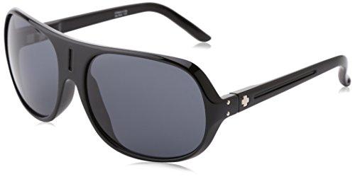 Spy Optic Stratos II Sunglasses,Black Gloss Frame/Grey Lens,one - Spy Sunglasses Clearance