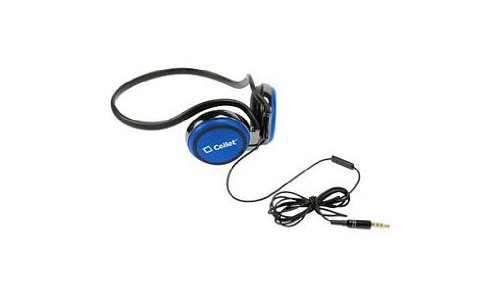 HTC One M8 Blue Premium Quality Stereo Sport Earphones Built In Hands Free