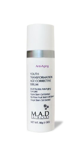 M.A.D Skincare Anti-Aging Youth Transformation Age Corrective Serum 1 oz.