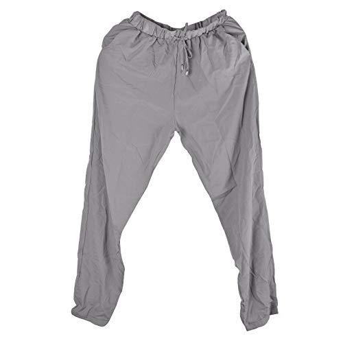 Color : Blue, Size : L MTOFAGF Multi-Colors Summer Autumn Pleated Pants Women Fashion MTOFAGF Brings You The Best