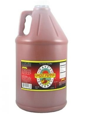Dave's Gourmet Ghost Pepper Naga Jolokia Hot Sauce Gallon (128 oz)