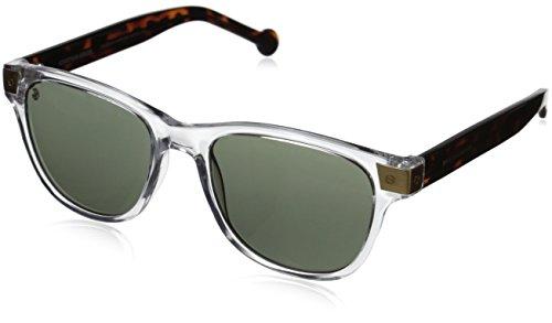 Jonathan Adler Men's SANTCRY54 Square Sunglasses, Crystal, 54 mm - Jonathan Adler Crystal
