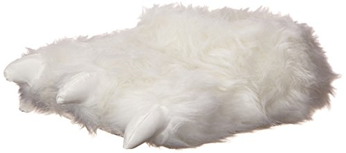 Wishpets Stuffed Animal Slippers - Soft Plush Toy Slippers for Kids and Adults - Polar Bear Paw Slippers]()