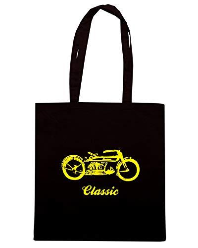 OLDENG00443 CLASSIC II Shopper Borsa Nera qTxC8Eyf