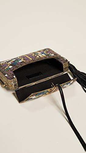 Multi Mosaic Women's Box Edelman Sam Saksia Clutch qUwppP