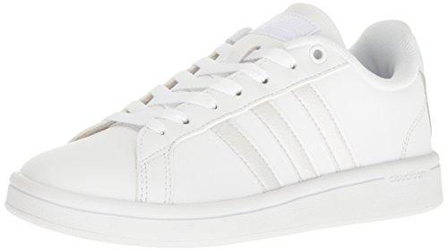 white adidas shoes - 1