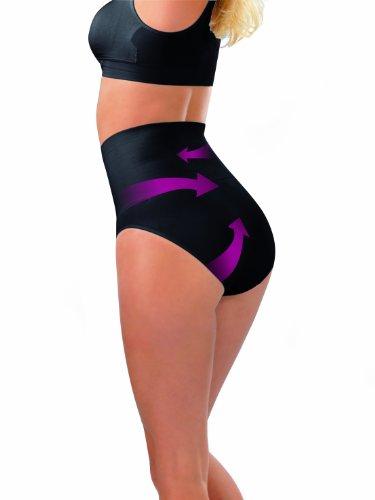 Figur Body - Ropa para mujer, pack de 2 Multicolore (Mehrfarbig (schwarz/weiß))