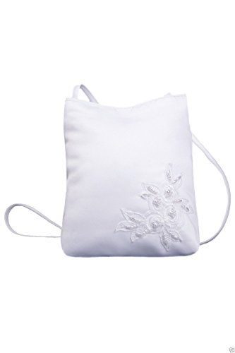 White Satin Purse - 4