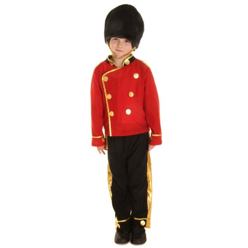 Busby Guard Child Costume (S) (Child Busby Guard Costumes)