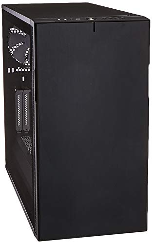 Fractal Design Define R6 USB-C - Mid Tower Computer Case - ATX - Optimized for High Airflow and Silent Computing with Moduvent Technology - Modular Interior - Water-Cooling Ready - Black Tg