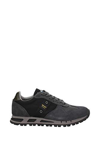 Homme Grey Suède Sneakers Dark 8fmustang01tas Blauer Eu Mustang qvB8U81H