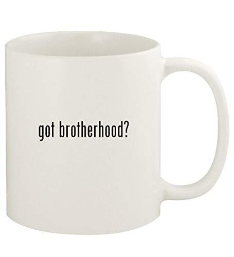 got brotherhood? - 11oz Ceramic White Coffee Mug Cup, White