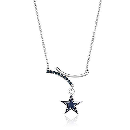 Pro Specialties Group NFL Dallas Cowboys Dual Infinity Necklace ()