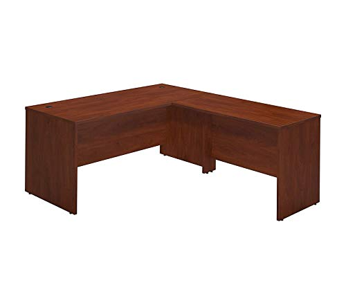 (Wood & Style Office Home Furniture Premium Series C Elite 66W x 30D Desk Shell with 48W Return in Hansen Cherry)