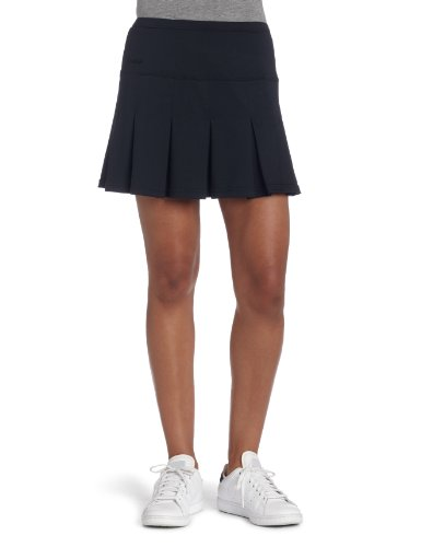Bollé Women's Essential Multi-Pleat Tennis Skirt, Black, X-Large