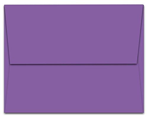 100 Lilac Purple A6 Envelopes - 6.5