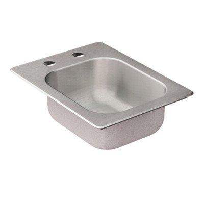 Moen KG2045522 2000 Series 13 in. L x 17-1/8 in. W x 5-1/2 in. D Drop In Single Basin Kitchen Si by Moen
