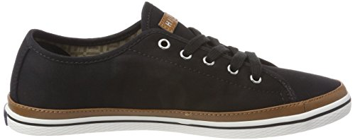 Tommy Hilfiger Dame Ikoniske Kesha Sneaker Sort (sort 990) AVzvi2RzS