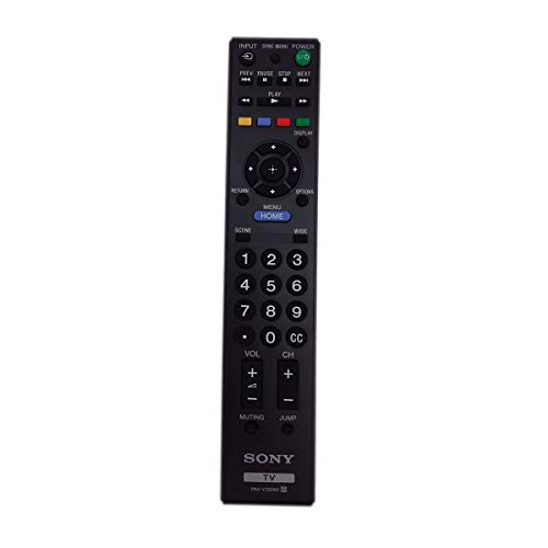 Sony RM-YD080 Factory Original Replacement Smart TV Remote Control for All LCD LED and Bravia TV's - New 2017 Model (1-489-990-11)