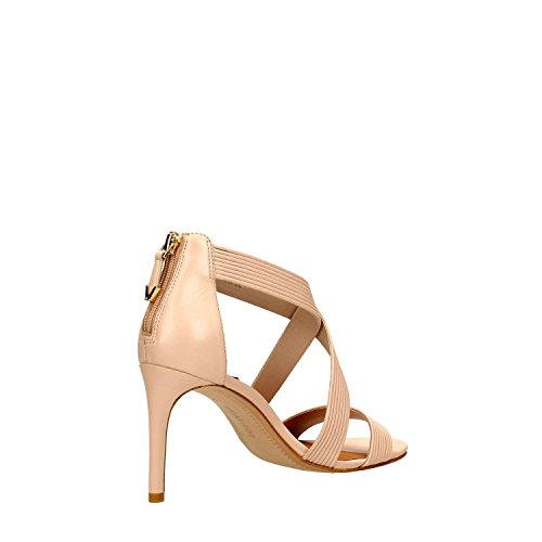 What For 208 Sandalo Alto Donna Pelle Beige Beige 36 Nude