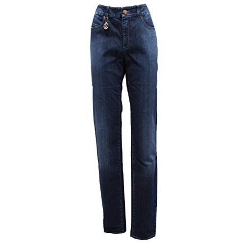 Jeans 7016y Denim Woman Armani Donna Cotton Trouser J18 Blu Hdqfdn