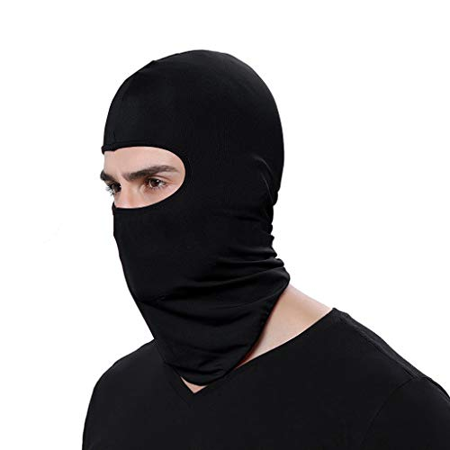 2pcs Ski Mask Full Face Motorcycle Mask Neck
